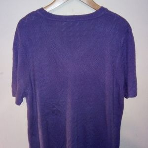 White Stag Tops - White Stag Women's Plus Purple blouse 16W